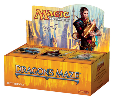 Booster-Display Dragon's Maze